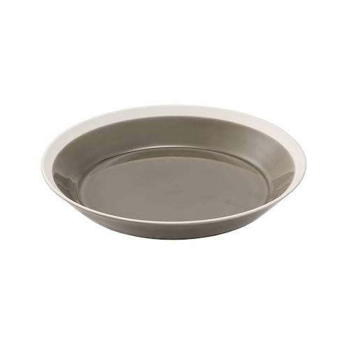 yumiko iihoshi porcelain(イイホシ ユミコ) Dishes プレート200 fawn brown
