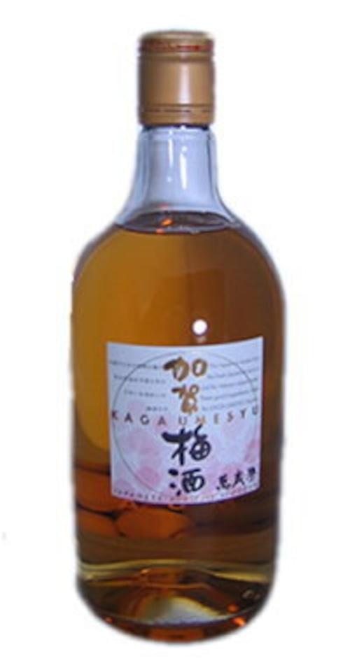 【萬楽歳】【専用箱入り】加賀梅酒 720ML