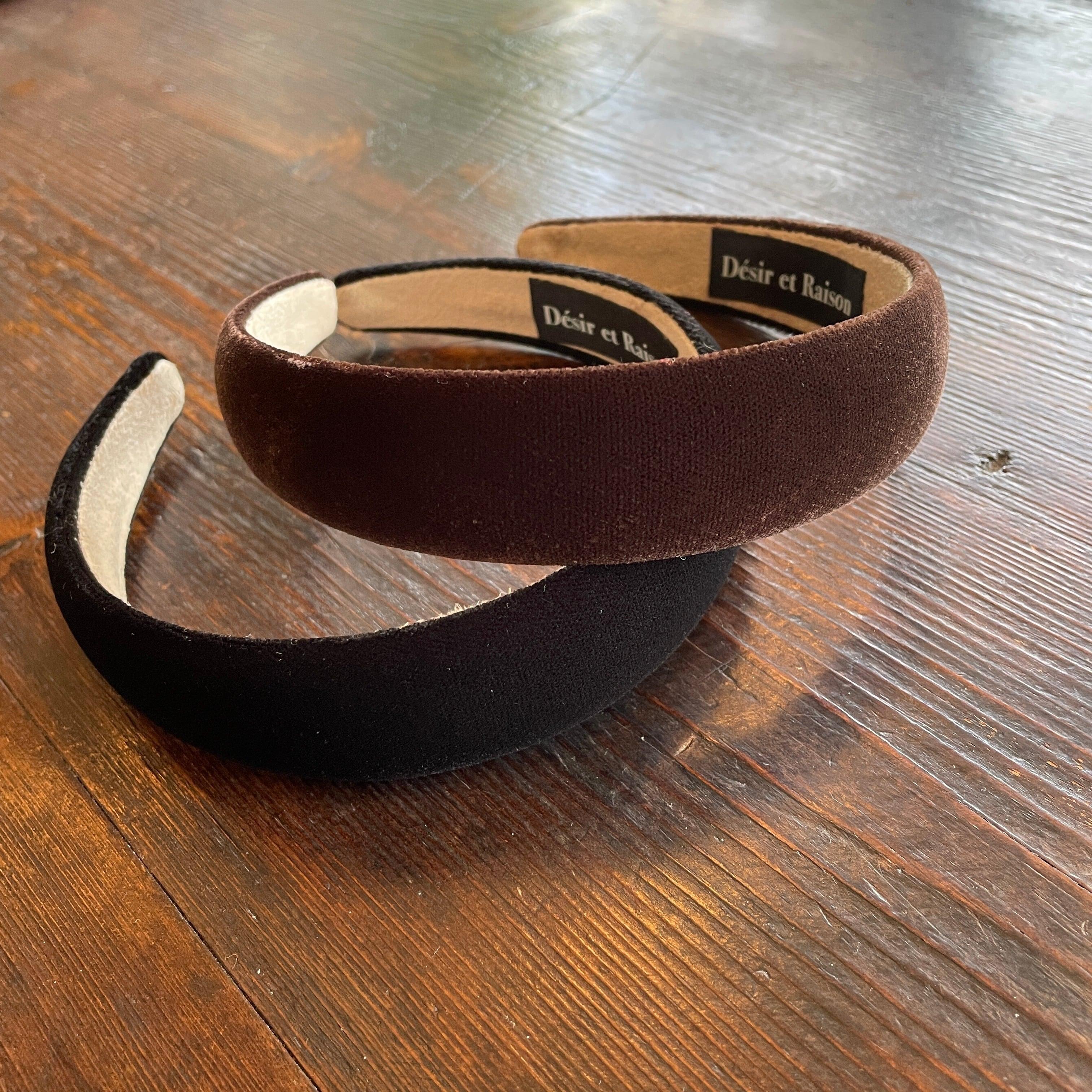 velour headband