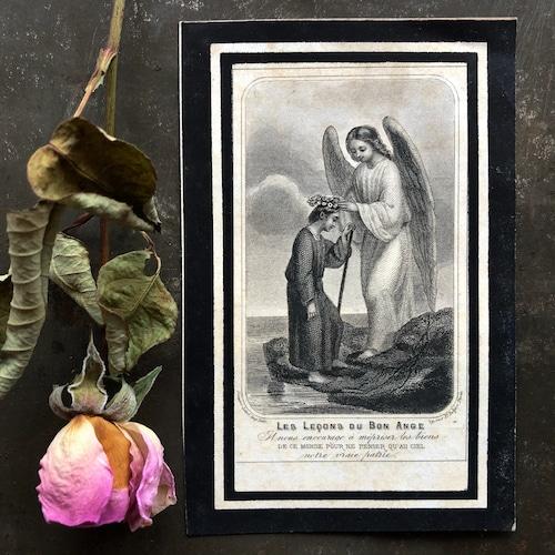 花冠を授ける天使のデスカード