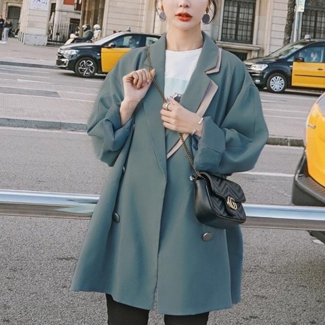 テーラードジャケット レディース アウター カジュアル ブレザー 秋 黒 パープル グリーン おしゃれ 40代 50代 仕事  20代 30代