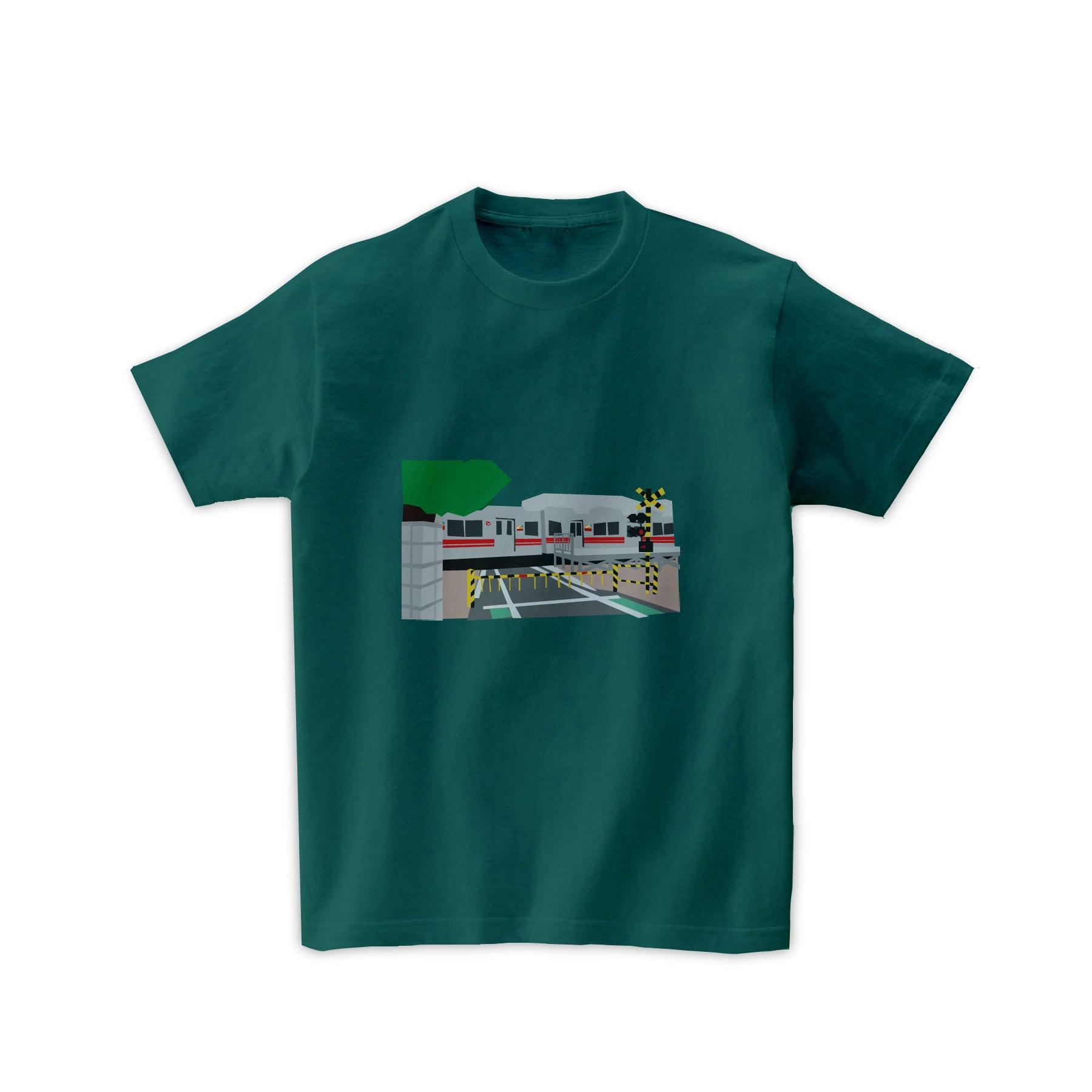 電車Tシャツ-ドアカット