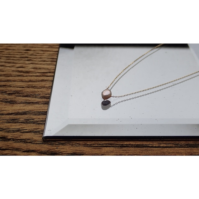 K10YG Pearl Necklace