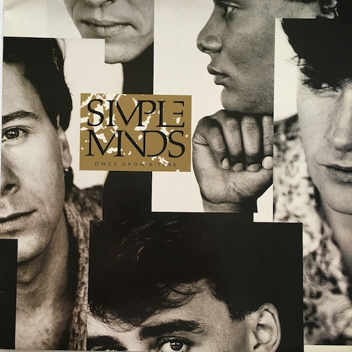 【LP・英盤】Simple Minds / Once Upon A Time