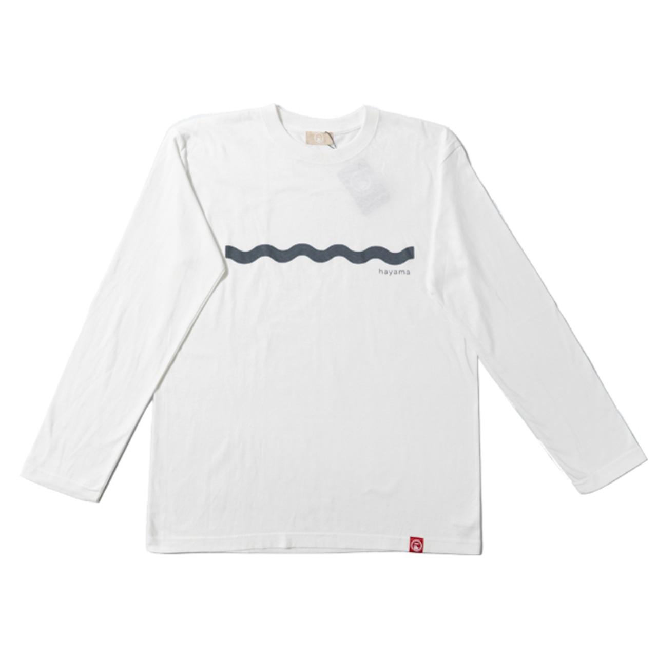 5.6オンス ロングスリーブT-Shirt - WAVE