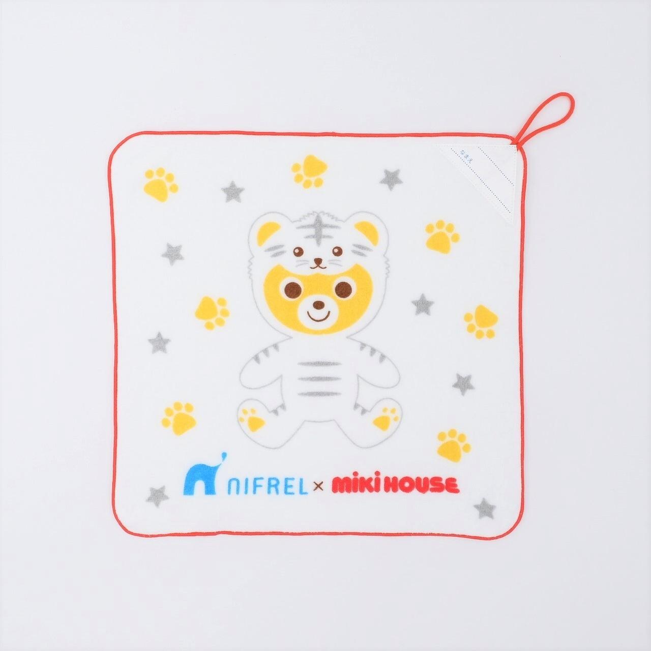 MIKI HOUSE × NIFREL ループ付きタオル (赤)