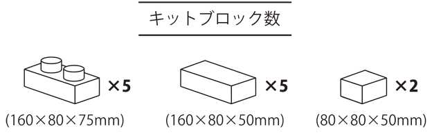 レンブロックインテリアキット オリジナルタイプ テキストブック付き