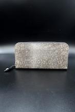 Item No.0312: Round Zip Wallet/Lizard