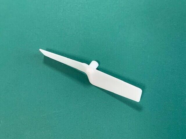 ホワイト◆A.012  アップグレード テールブレード 長さ48mm、 2個セット