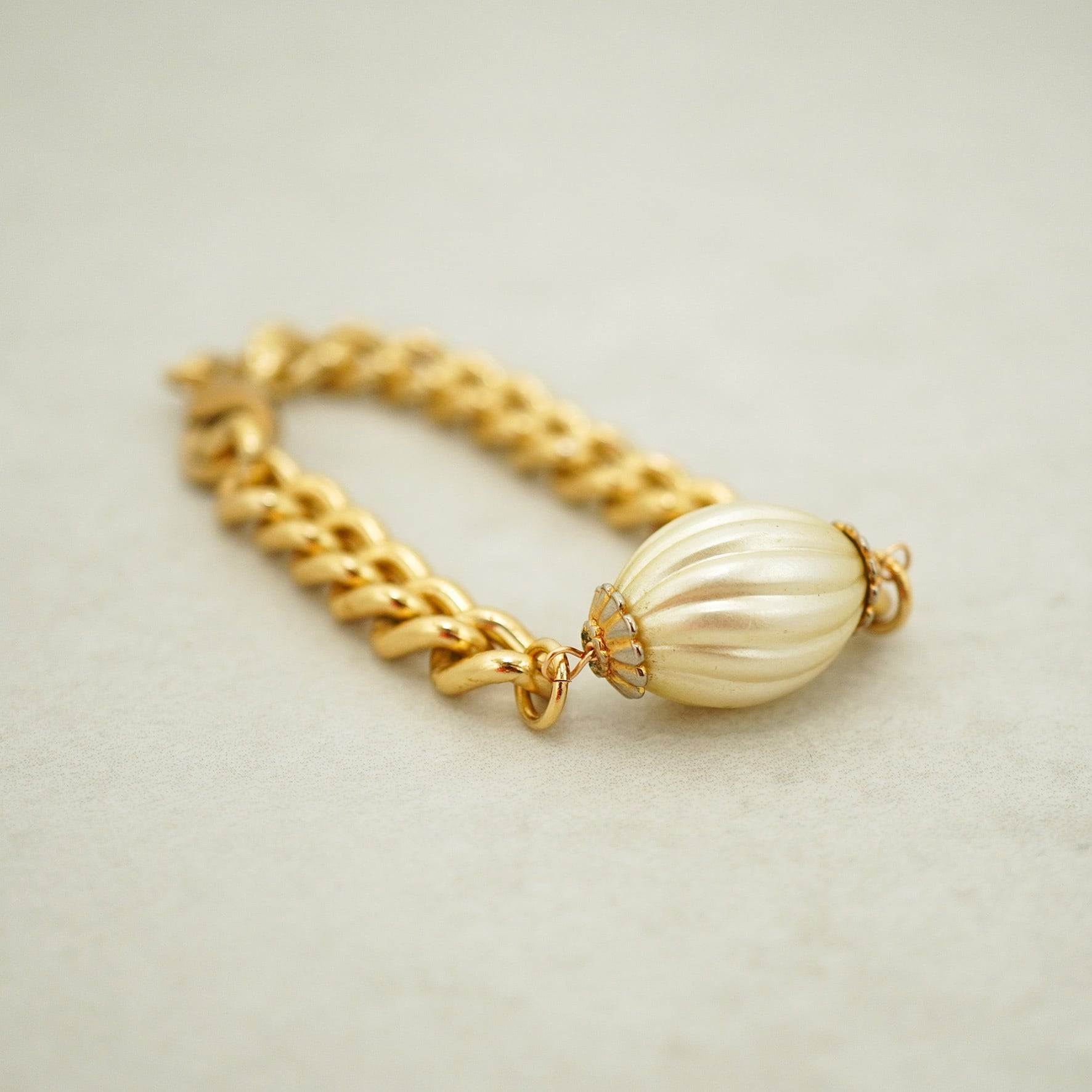 【FRENCH ANTIQUE】SHELL PEARL BRACELET