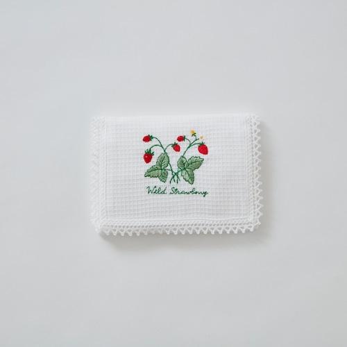 ポケットティッシュケース〈ワイルドストロベリー〉