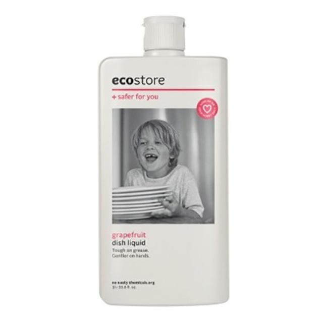 【ecostore】ディッシュウォッシュ リキッド <グレープフルーツ> 1L