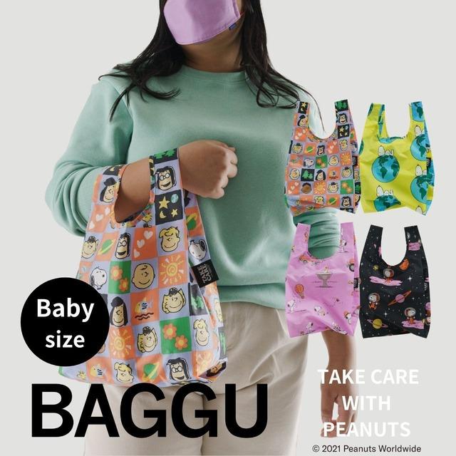 【送料無料】BABY BAGGU TAKE CARE WITH PEANUTS 全4色