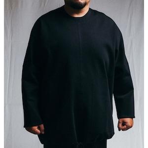 BARBALA ALAN - Tecno drawstring sweater(oversized) - 1887 TJ024
