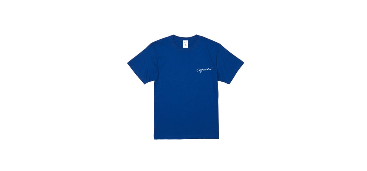 coguchi 1991 back logo T-shirts (BL)
