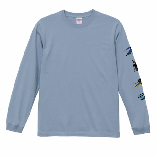 3BROS long sleeves (Blue) M size