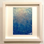 in the blue /W250×H250mm【M14】
