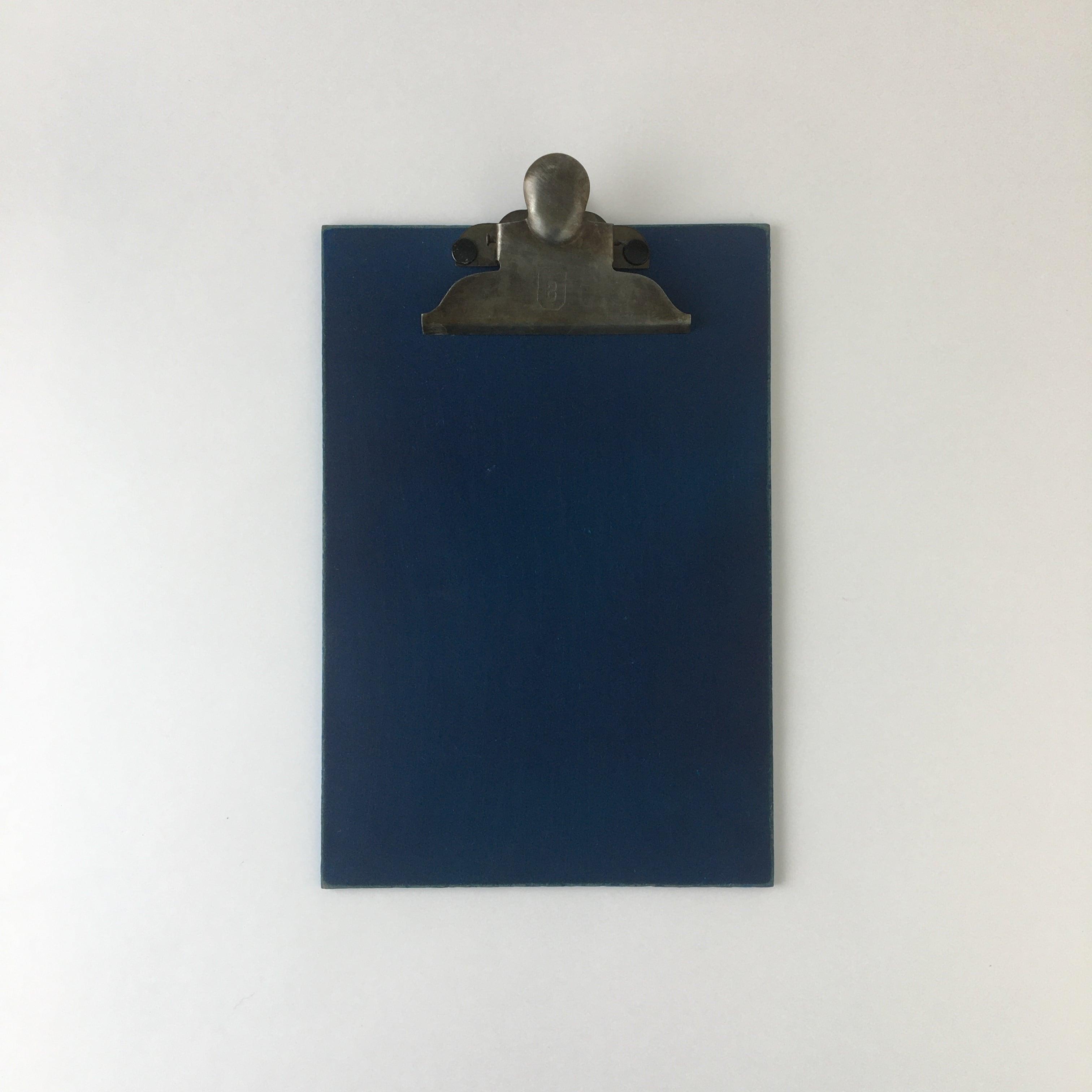 オランダのクリップボード A5(ブルー)2020年 Clip Board A5 Blue