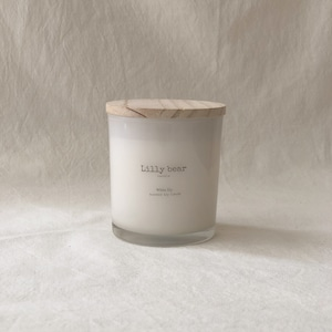 WHITE LILY /Classic soy candle