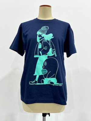 【ビーム25周年描き下ろし企画】小山健 「クールな生理ちゃん」Tシャツ