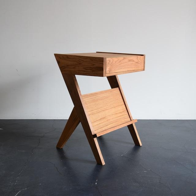 OAK DRAWER TABLE 引出し付き オークサイドテーブル