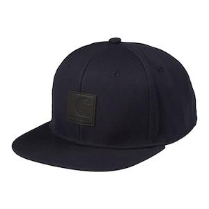 Carhartt (カーハート) LOGO CAP - Dark Navy