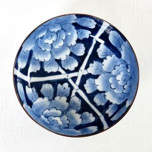 【074】伊万里 ぼたんの大鉢 明治/ Imari Big Bowl Botan/ Meiji