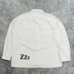 """【SANSE SANSE】""""neru shirt"""" (WHITE) サンセサンセ ネルシャツ"""