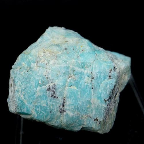 自主採掘!アマゾナイト カリフォルニア産 原石  23,5g AZ0074 天河石(てんがせき) 鉱物 天然石