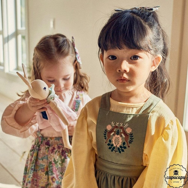 «sold out»«pour enfant» シャーロットパフブラウス Charlotte puff blouse