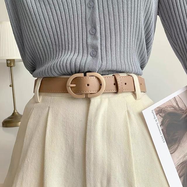 segumento buckle belt 3c's