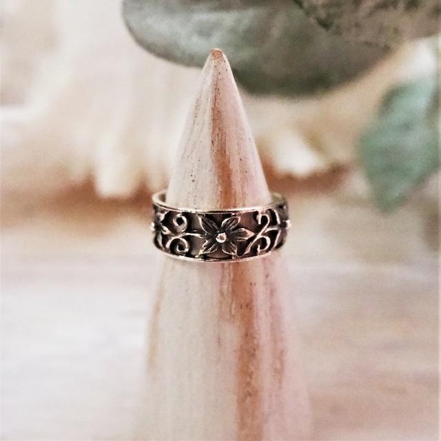 Flower Ring《SILVER925》18380039【12.5号/15.5号】