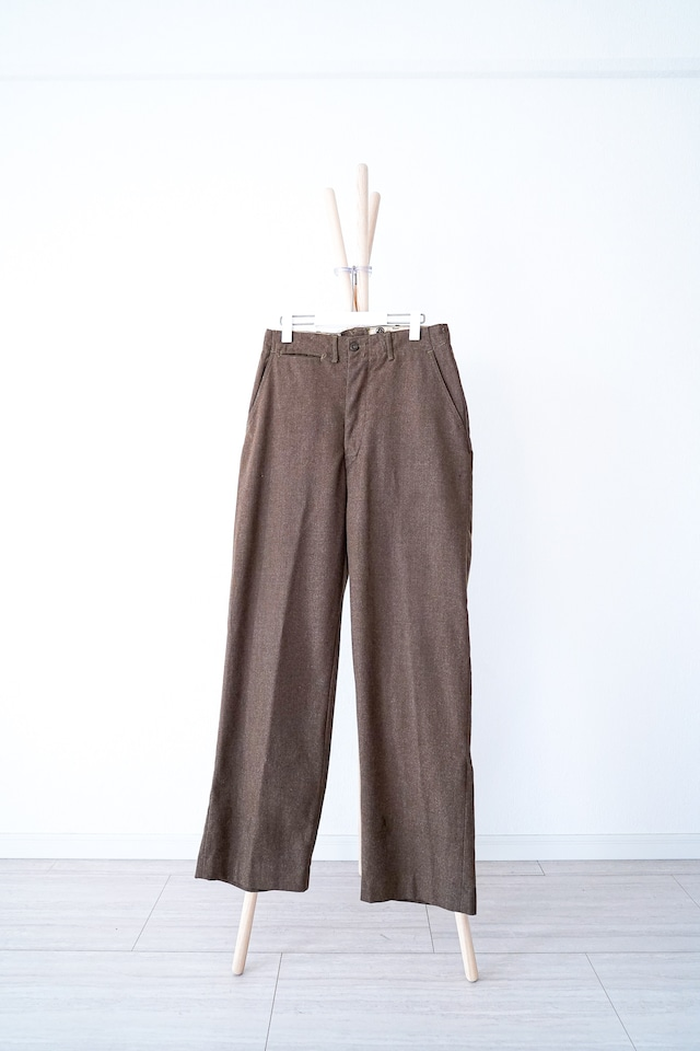 """【1930-40s】""""M-1937"""" US Army Wool Trousers / v390"""