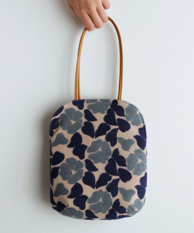 椿刺繍のminiバッグ (BAG008)
