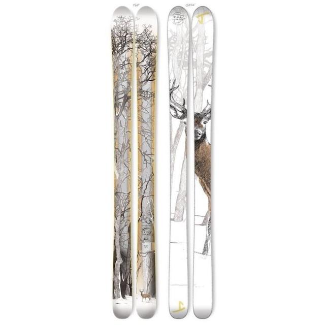 J skis - マスターブラスター「バック」オスカー・ロレンス x Jコラボ限定版スキー【メーカー完売】