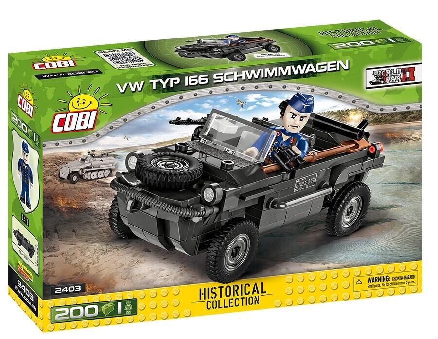 COBI #2403 シュヴィムワーゲン 166 型