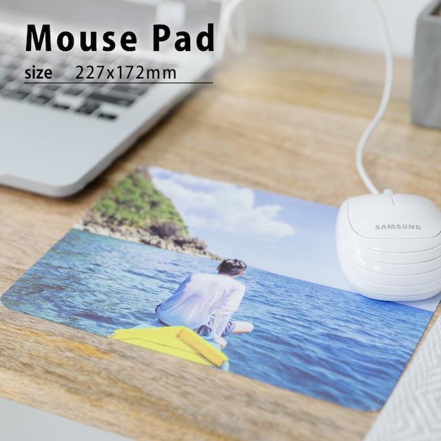 写真でオーダー・オリジナルフォトマウスパッド(227x172mm) -あなただけのオリジナルマウスパッド