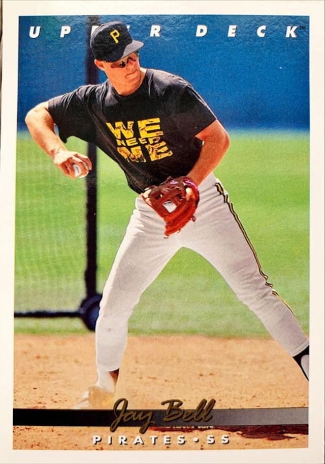 MLBカード 93UPPERDECK Jay Bell #103 PIRATES