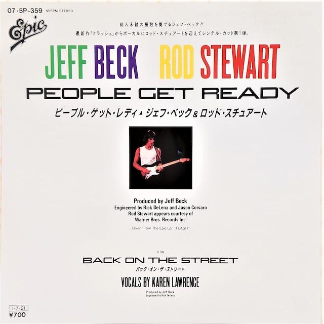 [中古7inch]  Jeff Beck And Rod Stewart – People Get Ready