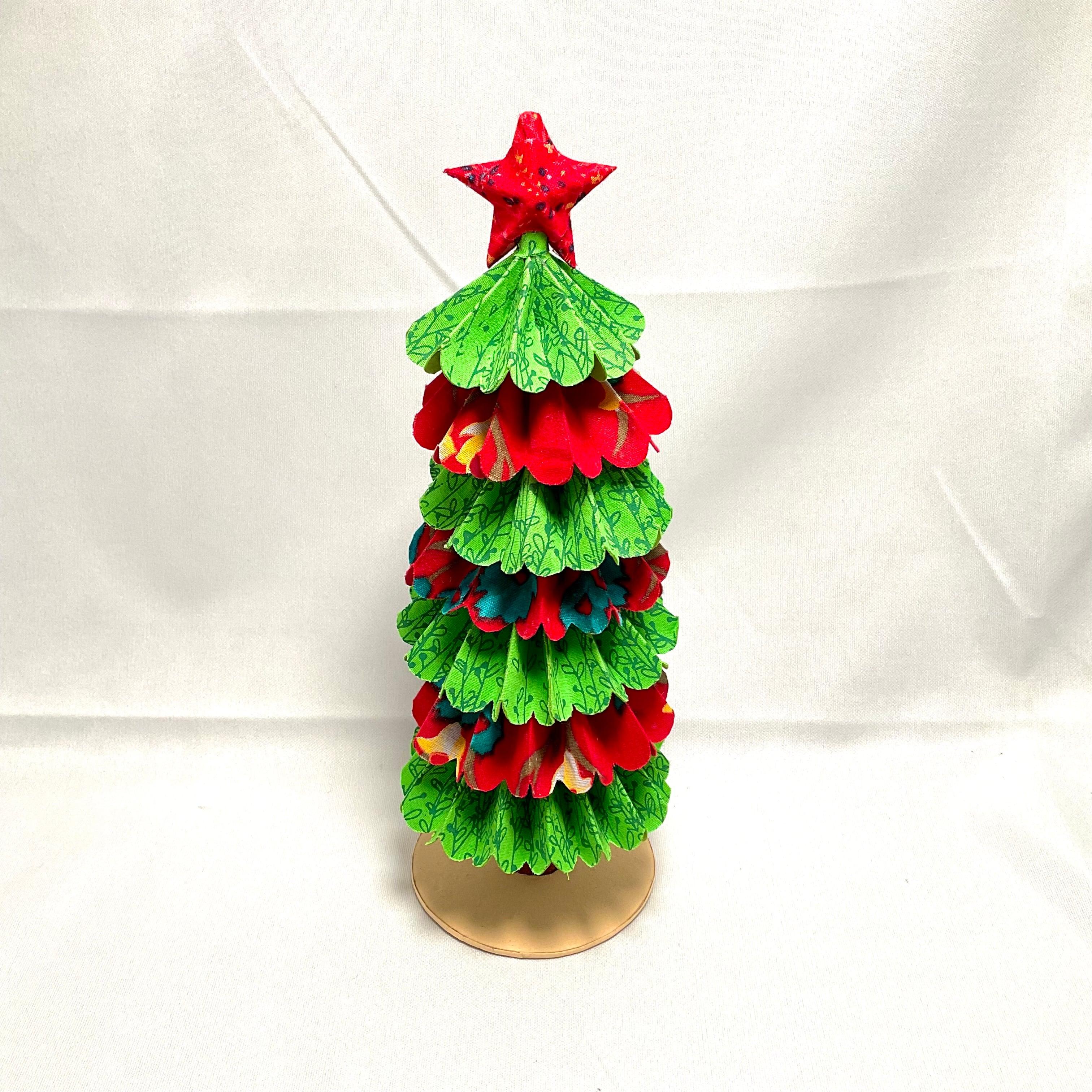 【ピープルツリー】手漉き紙のクリスマスツリー