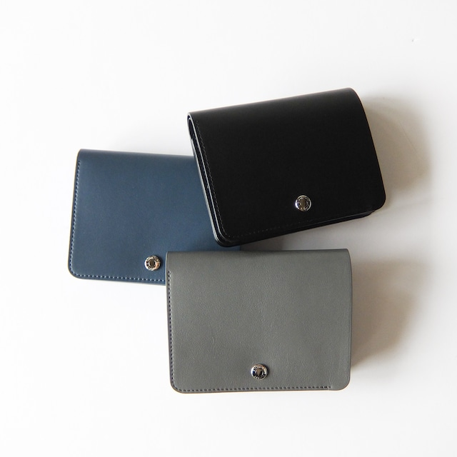 STANDARD SUPPLY - PAL BILLFOLD FLAP WALLET ビルフォールドウォレット - Black / Grey / Blue Grey