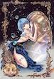 オリジナルウォールステッカー【星之物語ーStar Storyー 双子座ーGeminiー】A3 / yuki*Mami