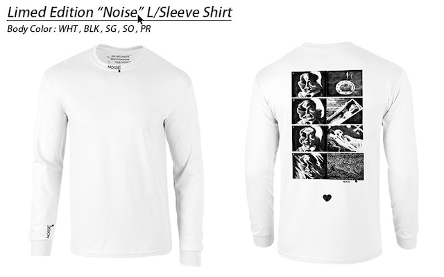 """Limited Edition """"NOISE"""" (Long Sleeve T-Shirt)"""