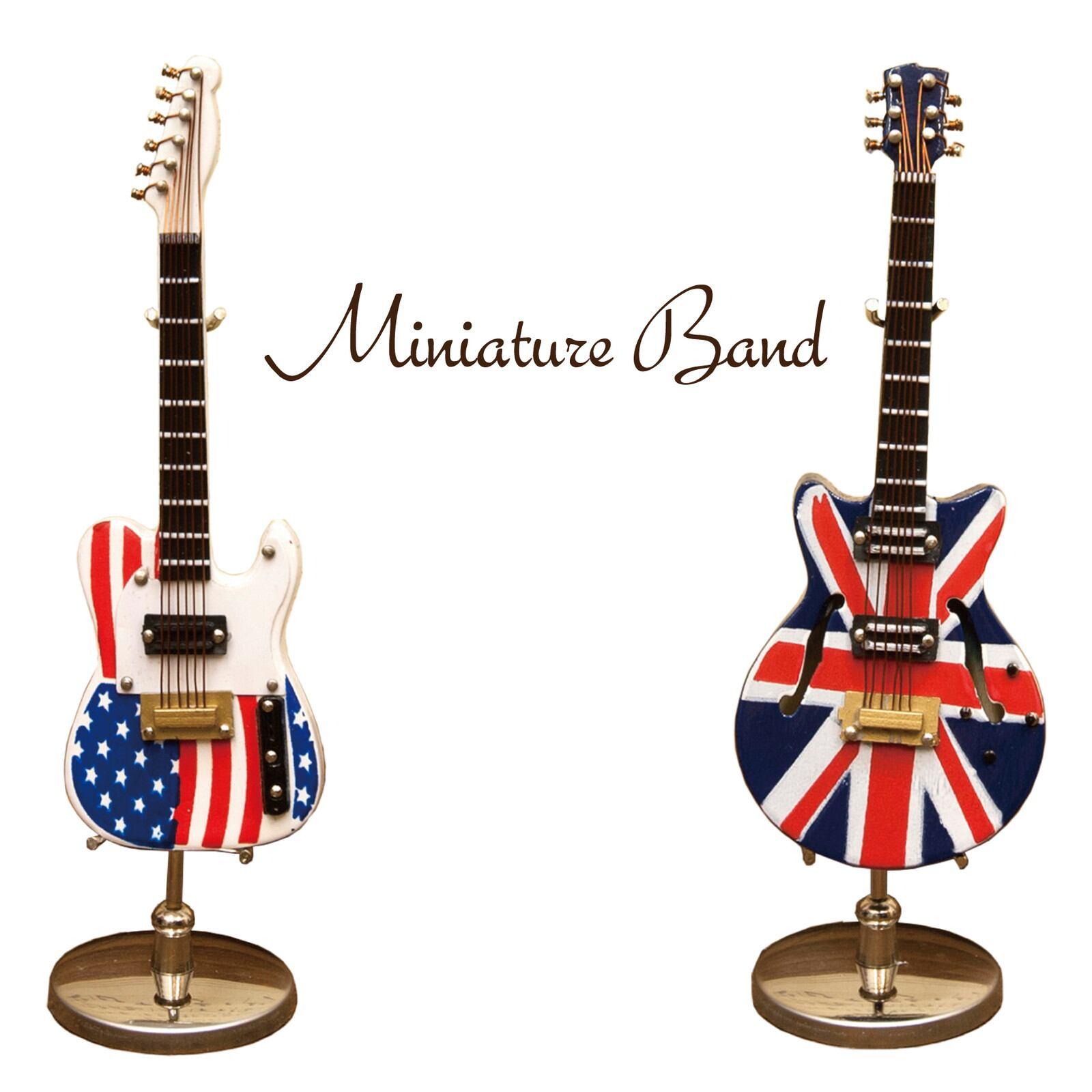 ミニチュアバンド[エレキギター]<アメリカン雑貨>