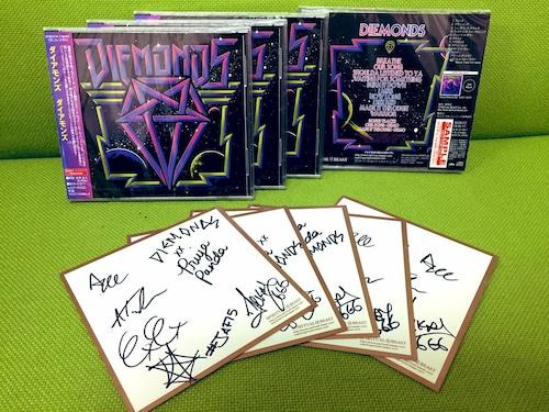 """【特典付き】DIEMONDS """"Diemonds"""" サイン色紙付き"""