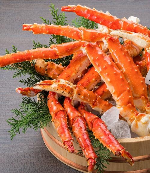 送料無料!ロシア産タラバ蟹5Lサイズ 1kg肩×2肩 2kg
