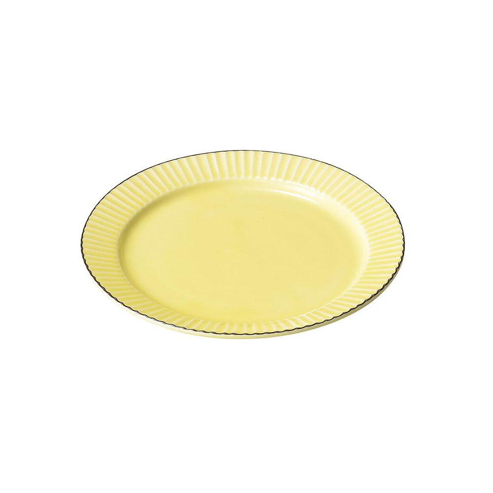 aito製作所 「ティント Tint」プレート 皿 M 約17cm イエロー 美濃焼 289008