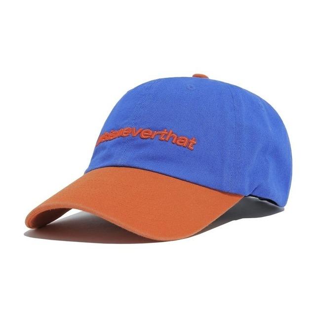 THISISNEVERTHAT  SP-LOGO CAP BLUE