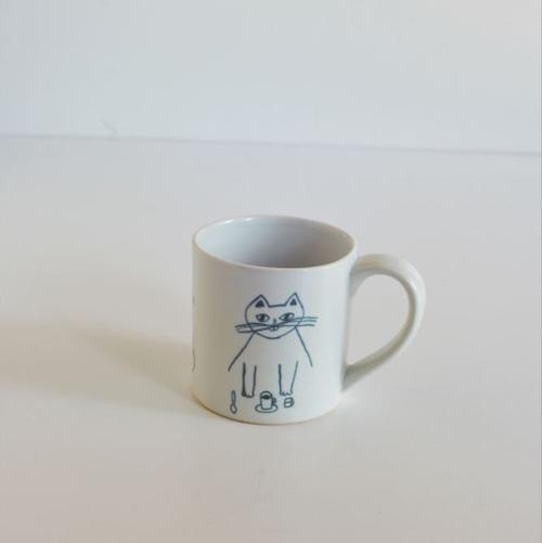 【トラネコボンボン 】猫のマグカップ(小)