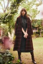 Herringbone Wool-Blend Chester Coat